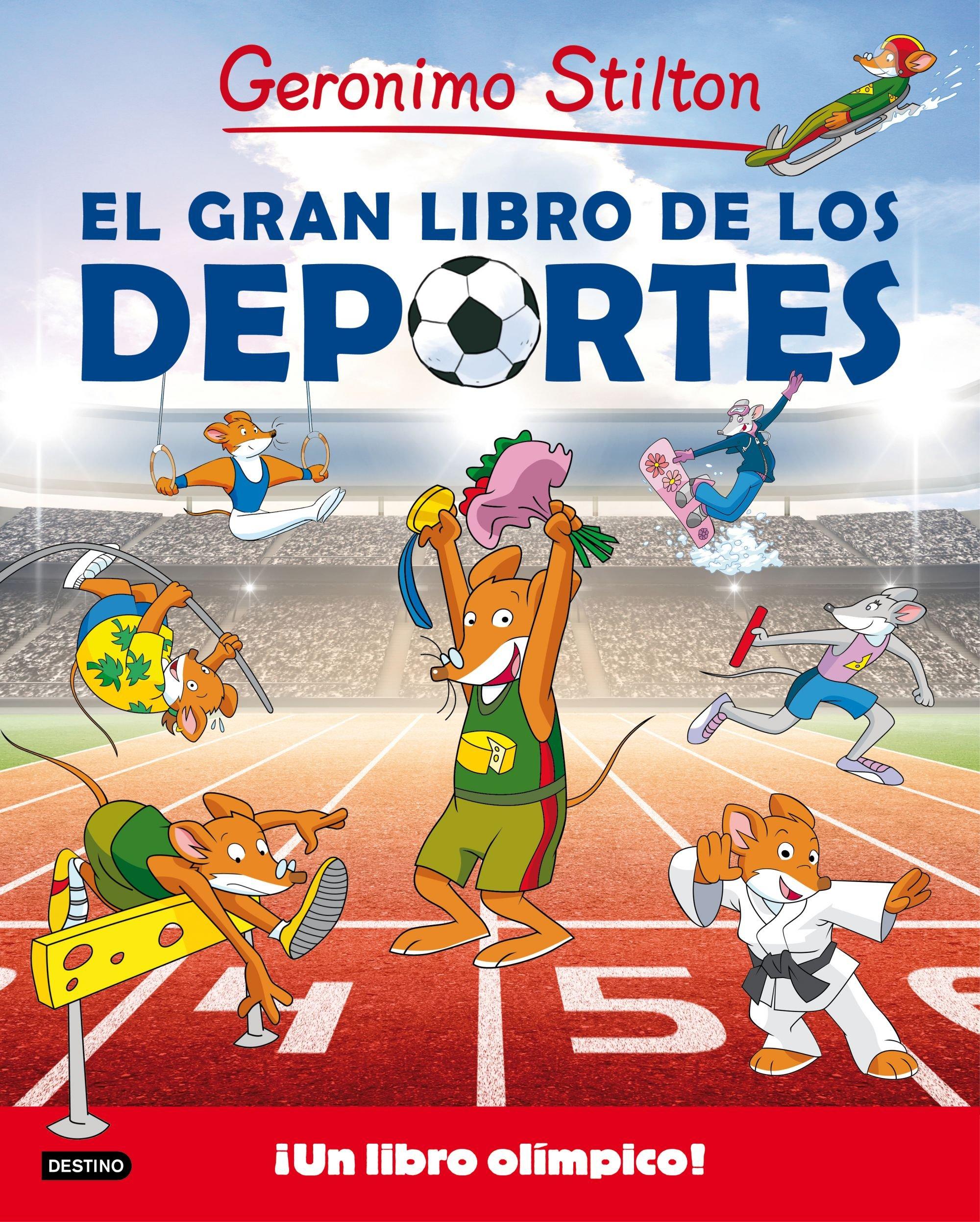 El gran libro de los deportes de Geronimo Stilton