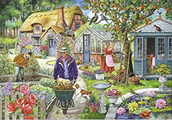 Find The Difference Piece Jigsaw Puzzle No1 In The Garden