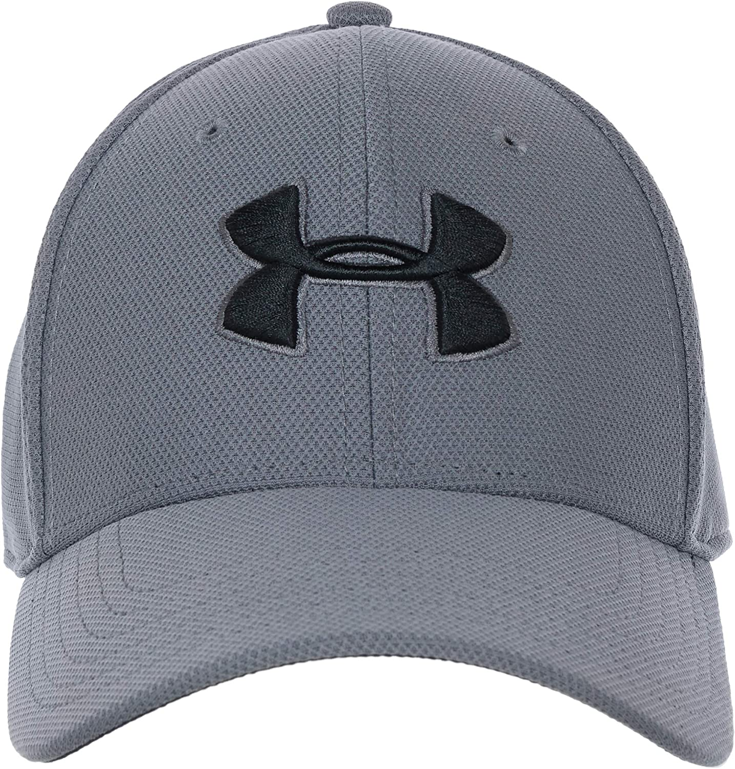 New Size L//XL Under Armour Mens HG HeatGear Heathered Blitzing 3.0 Blue Cap