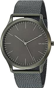 Skagen Men's Jorn Analog-Quartz Watch with Stainless-Steel Strap, Green, 21 (Model: SKW6425)
