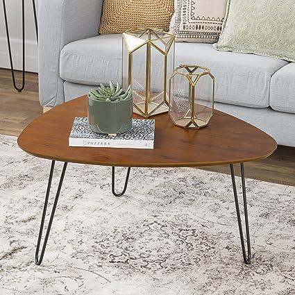 hairpin leg coffee table Amazon.com: WE Furniture 32