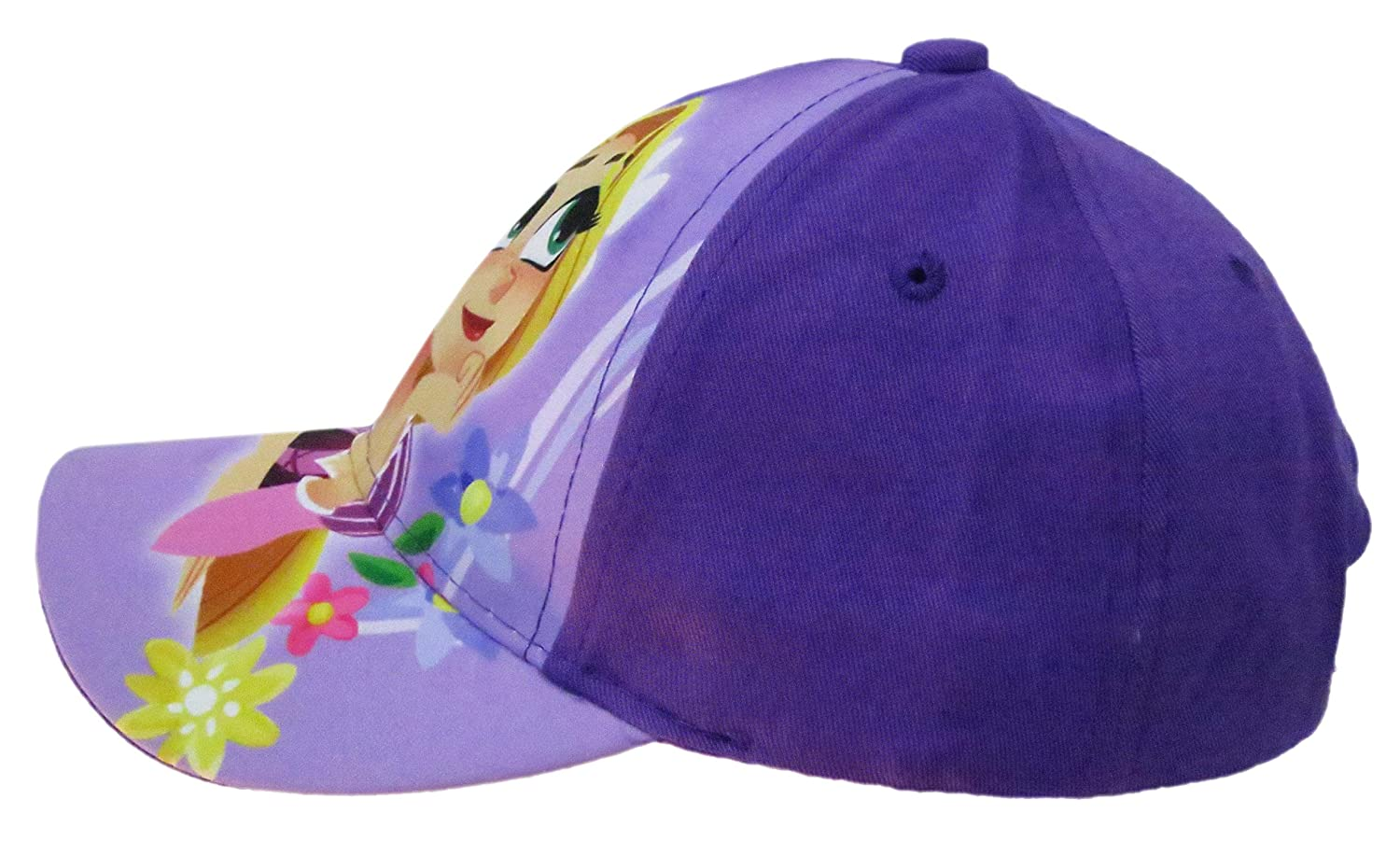 d6b6e12cd15 Disney Tangled the Series Rapunzel Girls  Purple Baseball Cap - Size 4-14   6014   Amazon.co.uk  Clothing