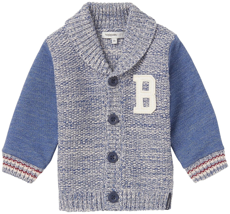 Noppies Baby-Jungen Strickjacke B Cardigan Knit Galax