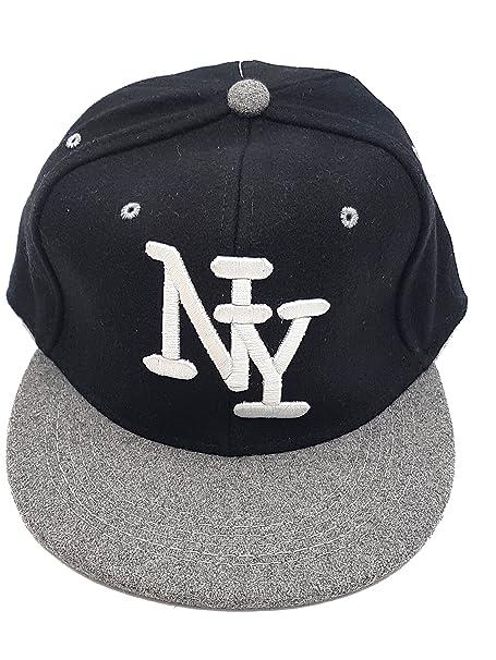 data di uscita: arrivo sporco Cappello Baseball con visiera e iniziali new York con cinturino ...
