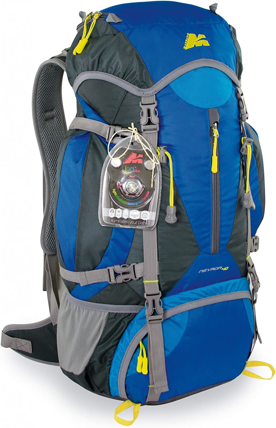 trekking O Lampe frontale LED sportive extra lumineuse pour randonn/ée camping