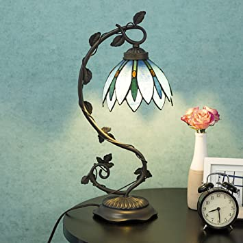 lamp inspiring antique hanging light style table blue tiffany dragonfly lamps