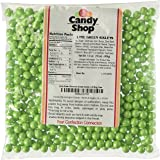 Lime Green Shimmer Sixlets Candy 1LB Bag