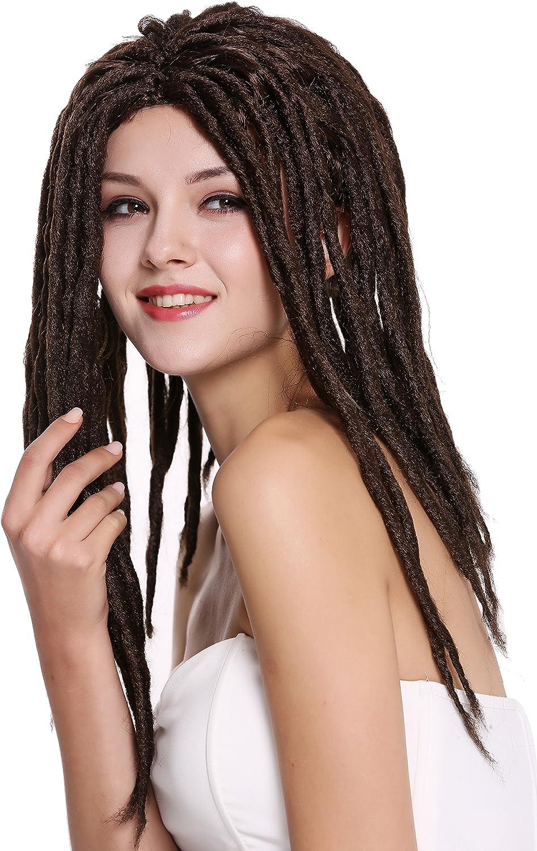 90674-ZA103 Man Lady Party Wig Halloween Dreadlocks Rasta WIG ME UP ®