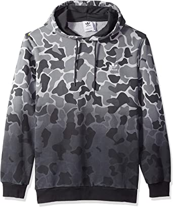 adidas Originals Men's Camo Dipped Pullover Hoodie: Amazon
