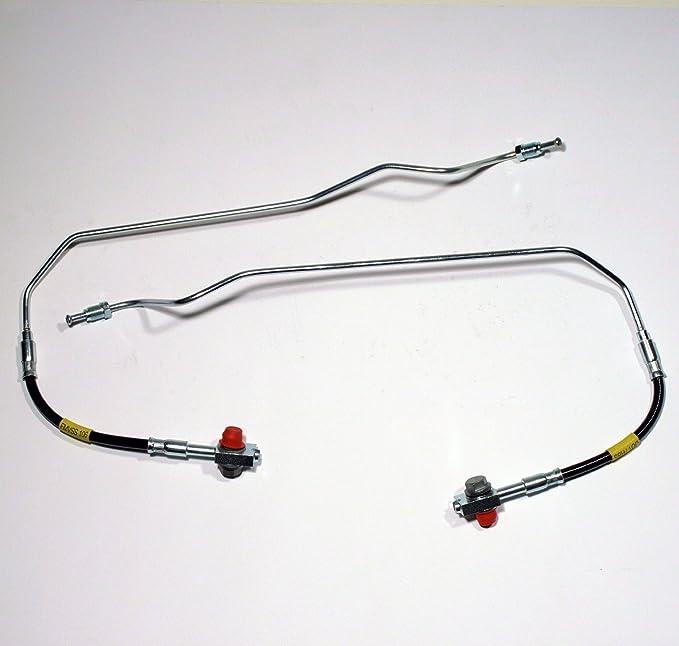 2 X Bremsschläuche Bremsschlauch Links Und Rechts Für Hinten Für Die Hinterachse Auto