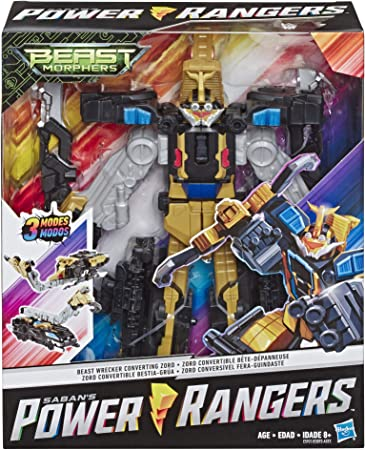 Power Rangers Beast Morphers Beast Wrecker Zord Converting Action Figure Toy from TV Show
