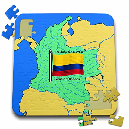 Amazon.com: 777images Flags and Maps - South America - Map ...