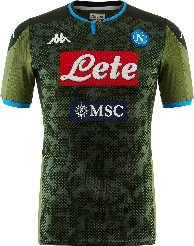 SSC Napoli Réplica de Camiseta de Segunda Equipación Temporada 2019/2020, Verde, XL: Amazon.es: Ropa y accesorios