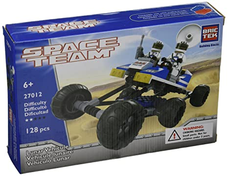 Lunar Vehicule BricTek Building Block Construction Toy Brick Space Team Bric Tek