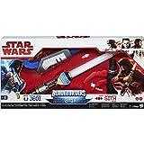 Star Wars - Via della Forza Da Che Parte Stai Jedi e Sith Lightsaber Spada Laser Elettronica 2-in-1 che Si Illumina Bladebuilders Episodio 8 Gli Ultimi Jedi