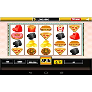 Hamburger Donut Slots Free Casino Jackpot 2015 Vegas Slot Machine Free Multiple Reels Payline Bonus 100 Line Fortune Restaurant Pizza Burgers for Kindle Tablets Mobile Phones: Amazon.es: Appstore para Android