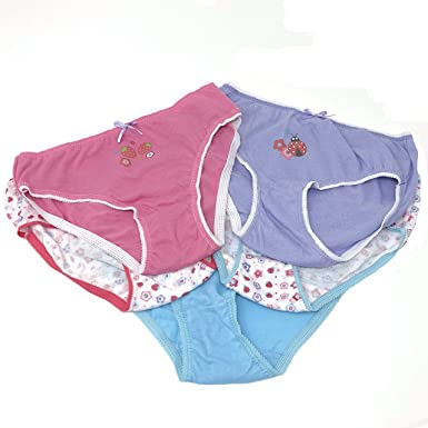 7 Pack Children/'s Toddlers Pants Knickers Briefs Girls Boys 100/% Cotton UK Size