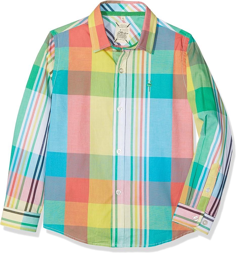 EL FLAMENCO Casual Camisa, Multicolor (Multicolor 1), 6 años (Tamaño del Fabricante:6) para Niños: Amazon.es: Ropa y accesorios