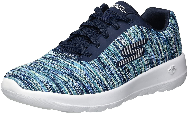Skechers Women's Go Walk Joy-Invite Sneaker B078GWRFPP 12 B(M) US|Navy/Multi