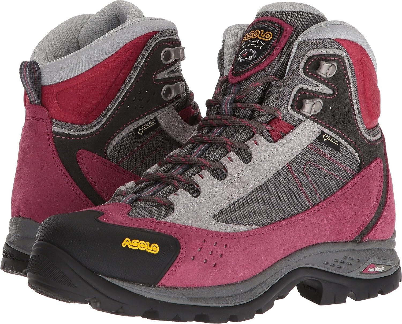 Asolo Women's Nilas GV Hiking Boots B071X4W9P3 9 B(M) US|Redbud/Silver