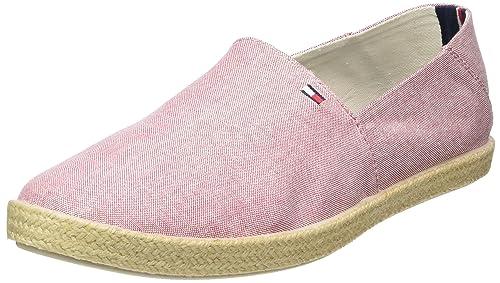 Tommy HilfigerG2285RANADA 2D_2 - Mocasines Hombre, Color Rojo, Talla 46 EU: Amazon.es: Zapatos y complementos