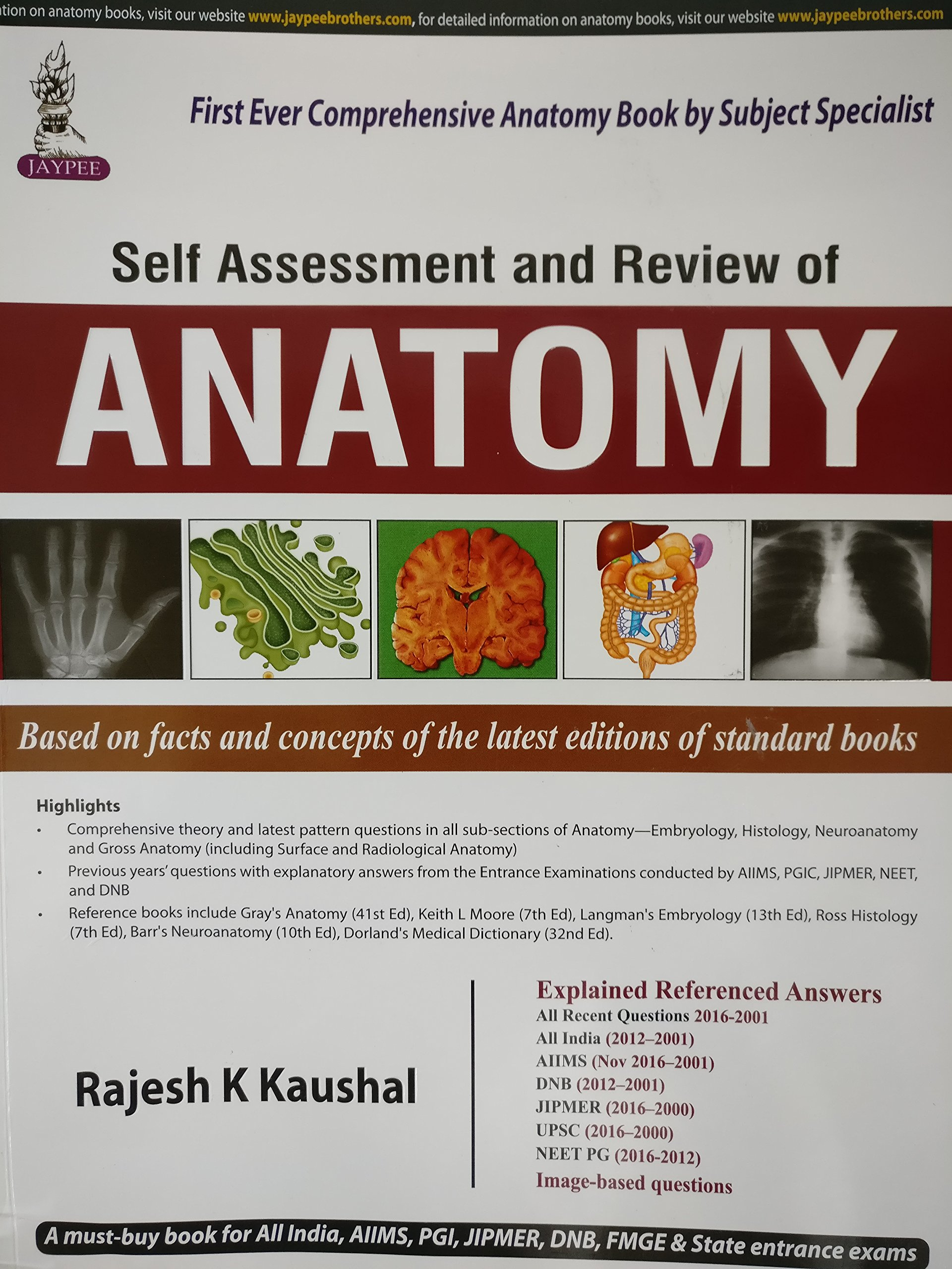 Buy Self Assessment and Review of Anatomy (PGMEE) Book Online at Low ...