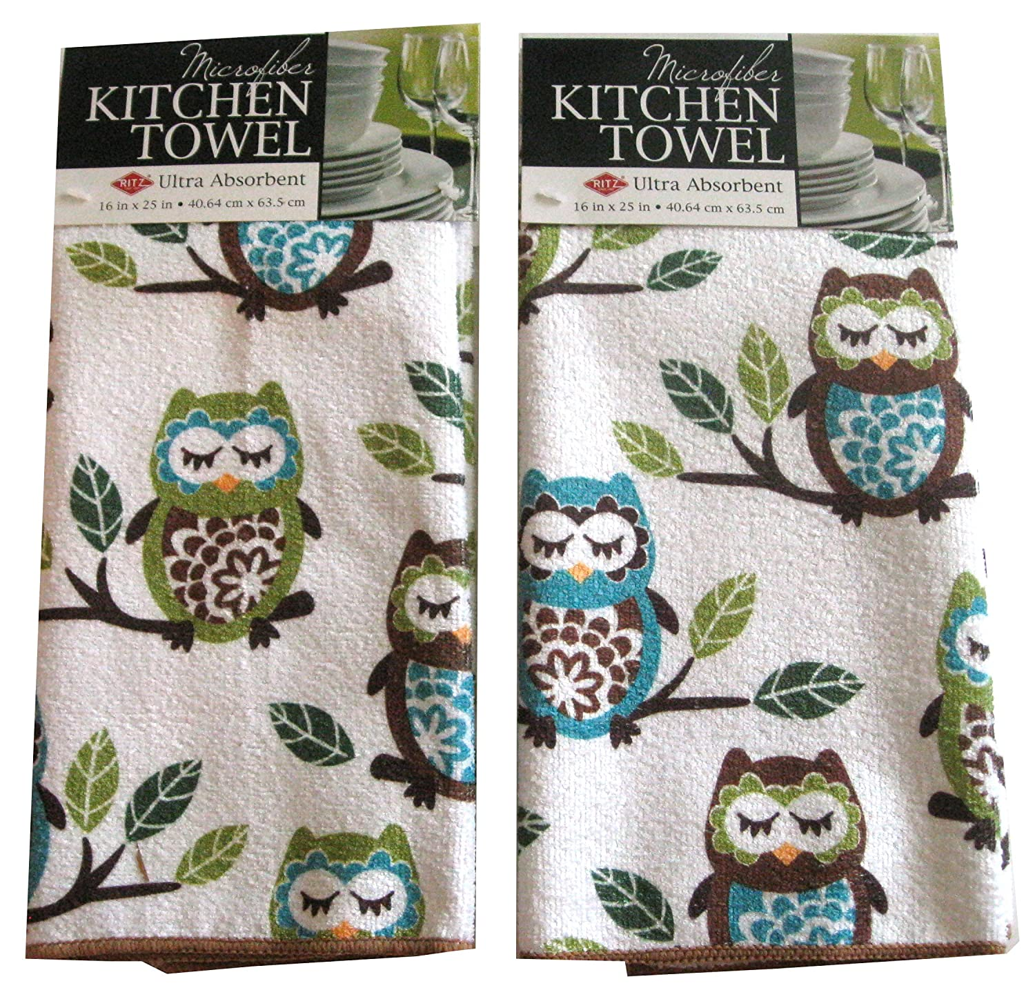 Owl Kitchen Towels | Beautiful Kitchen Towel Sets Khetkrong