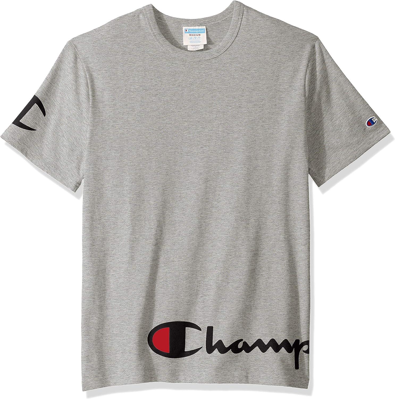 NEW CHAMPION size XL Red White /& Blue Foil Logo mens USA t-shirt