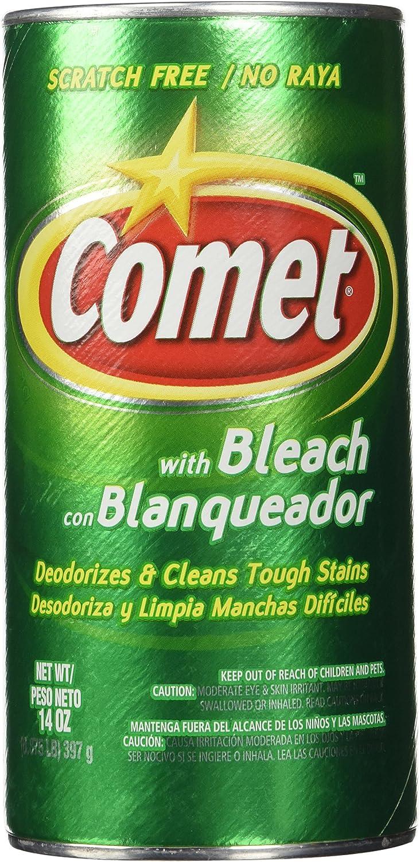 Comet with Bleach (Scratch Free) NET WT 14OZ.