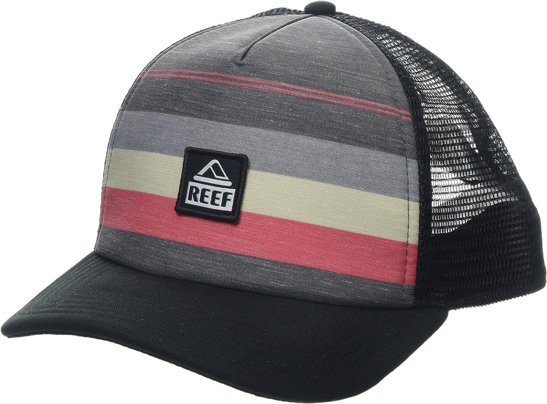 Reef_Apparel Reef Peeler Hat Gorra de béisbol, Negro (Black Bla ...