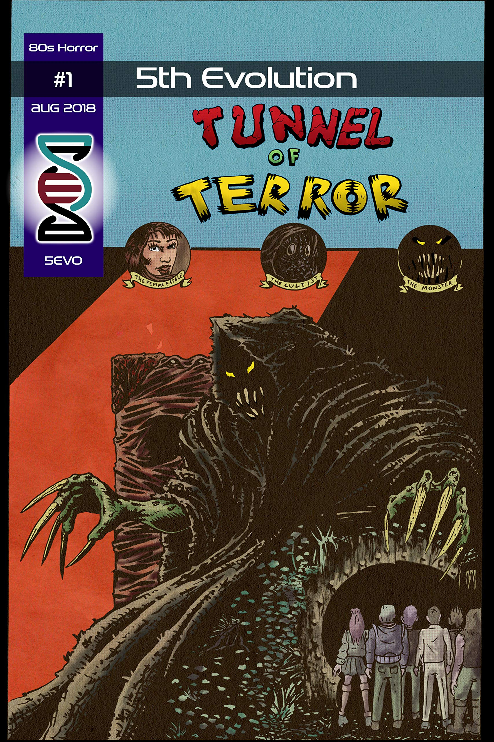 5th Evolution: 80s Horror #1: Andrew Hand, Michael E