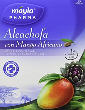 Mayla Alcachofa con Mango - 30 Cápsulas: Amazon.es: Salud y cuidado personal