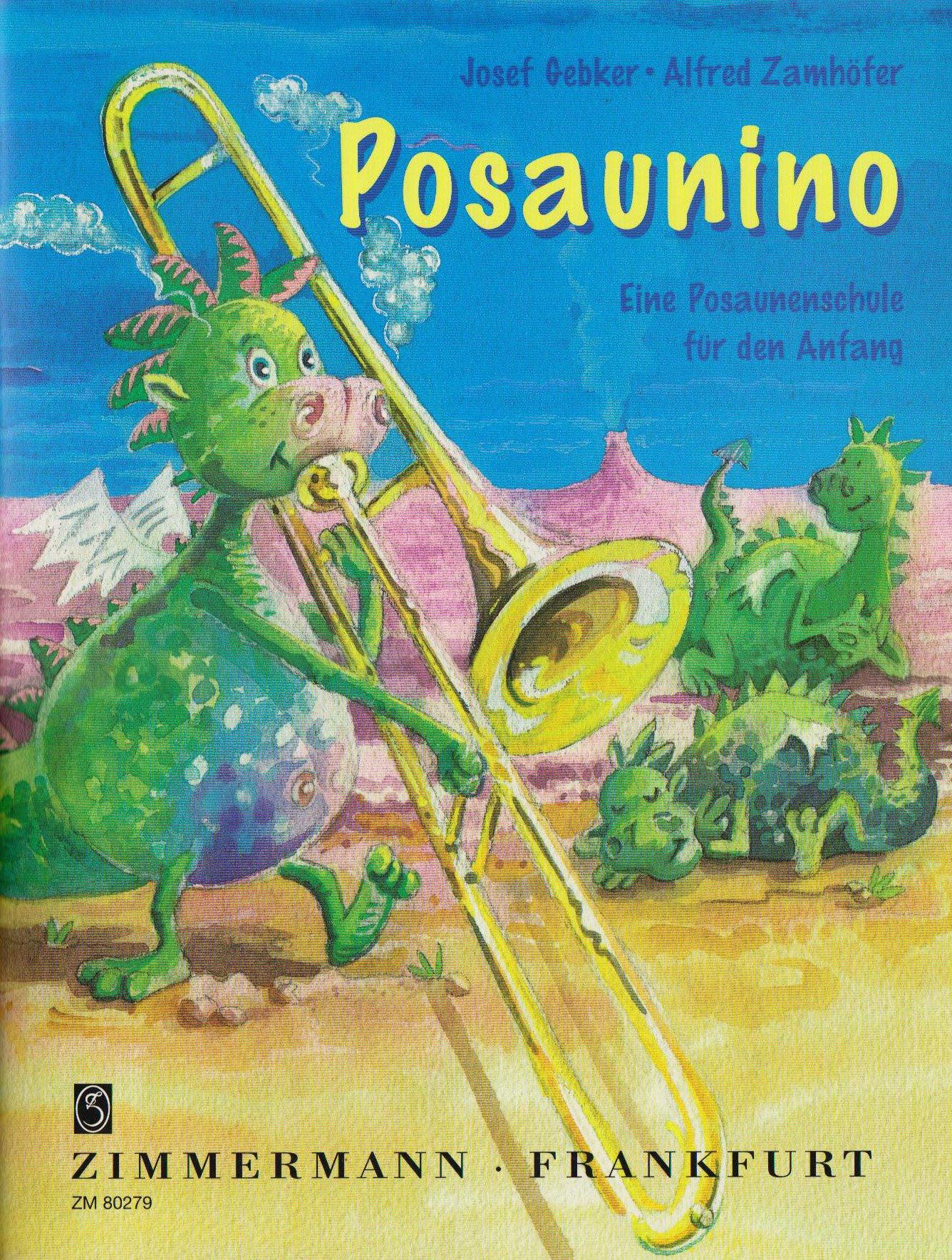 Posaunino: Eine Posaunenschule für den Anfang. Band 1. Posaune.