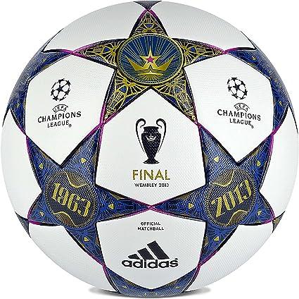 comer Metropolitano Desmantelar  Amazon.com: adidas uefa champions league Finale Wimbley producto oficial de  balón de fútbol: Sports & Outdoors