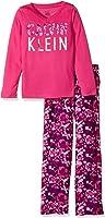 Calvin Klein Girls' CK 2pc Long Sleeve Top/Sleep Pant Set