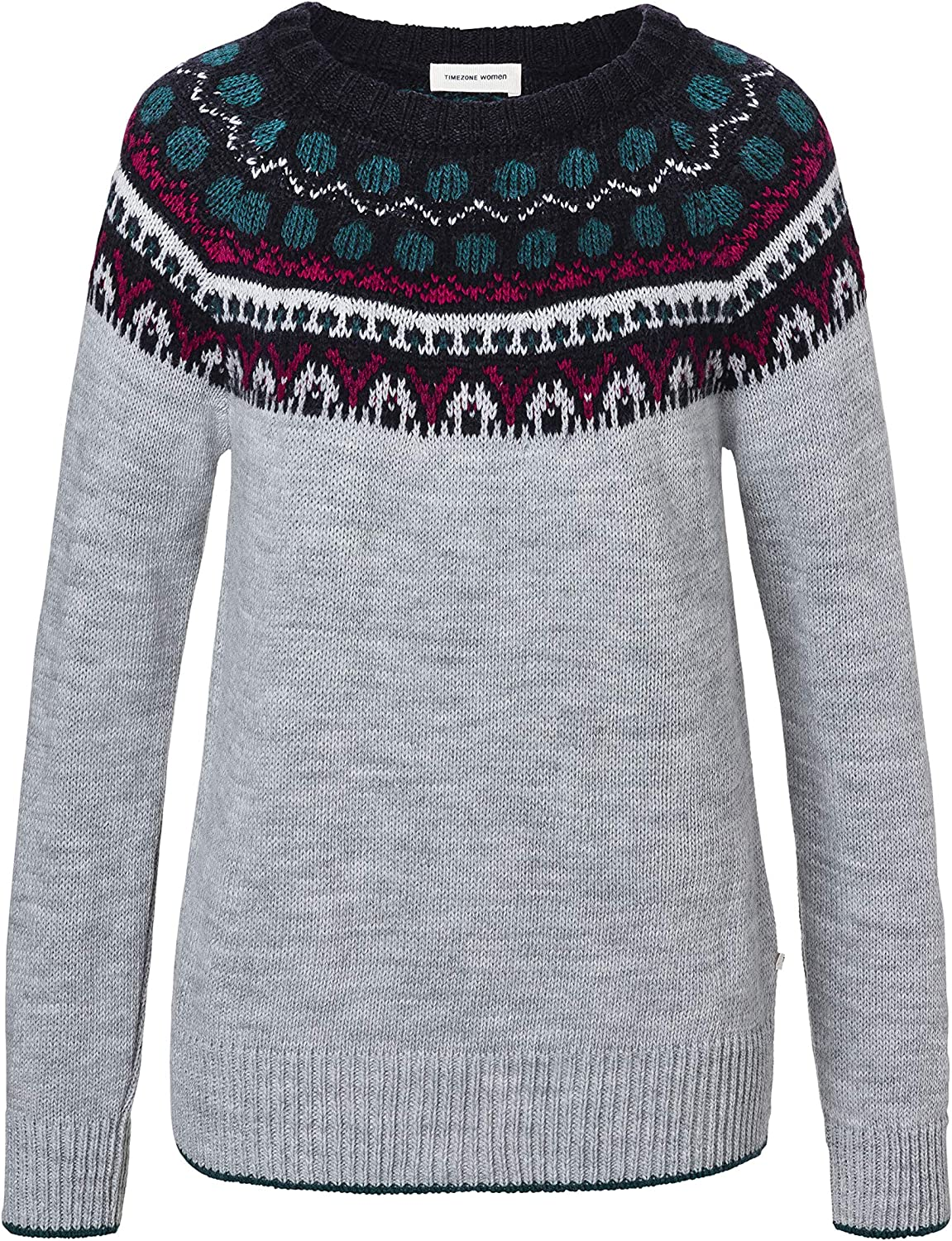 Timezone Norwegain Pullover suéter para Mujer