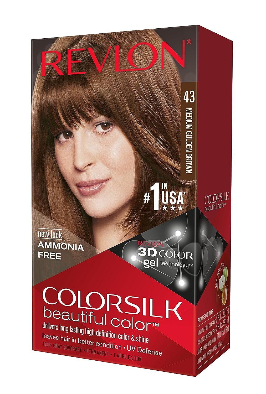 Amazon Revlon Colorsilk Haircolor Medium Golden Brown