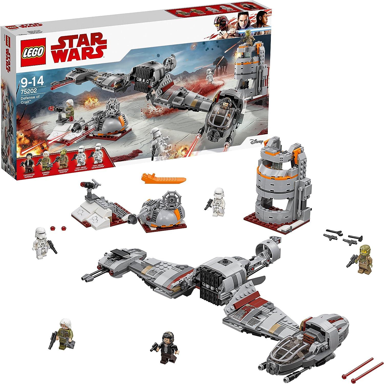LEGO Star Wars Episode VIII: Defense of Crait Costruzioni