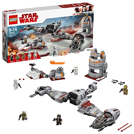 De Construction Star 75202 Défense Lego Crait Wars Jeu ZuPkwTiOXl