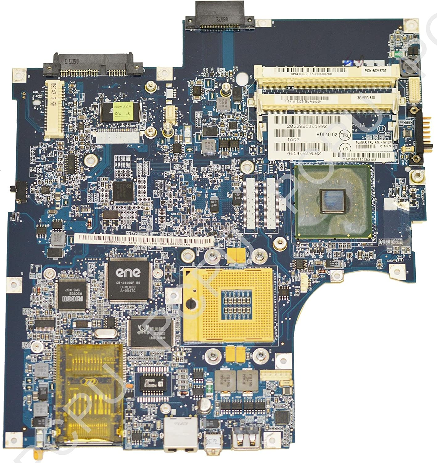 41W1200 IBM Lenovo 3000 N100 Intel Laptop Motherboard s478