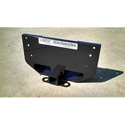 UTV Hitchworks UTV-XSE Rear Skid Plate + Receiver Hitch Extension - RTV-X: Automotive