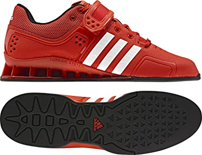 Amazon.com | adidas Adipower Weightlifting Shoes - 7 - Red | Shoes