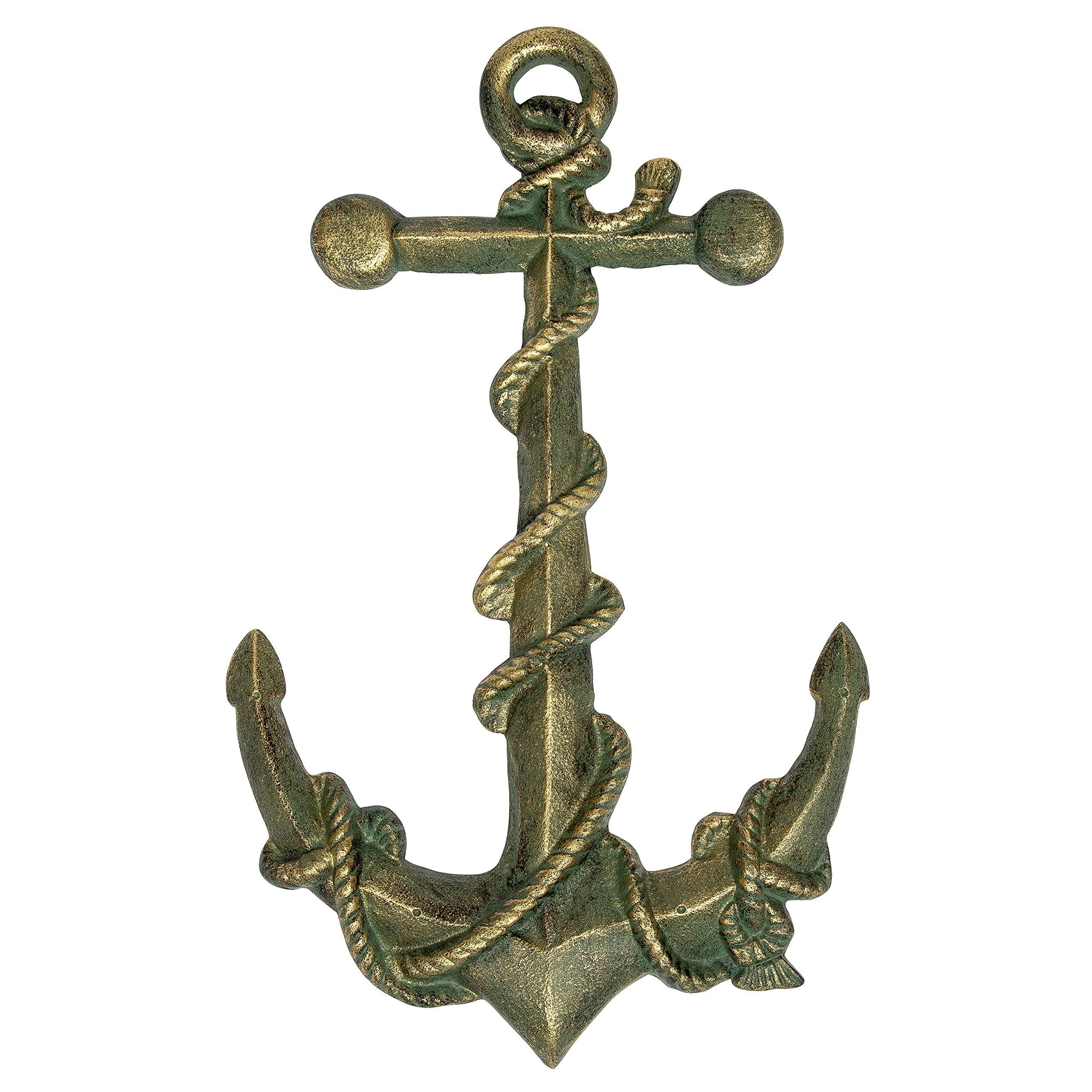 Verdigris Finish Wall Anchor