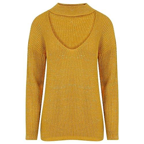 Janisramone - Jerséi - suéter - Manga Larga - para mujer