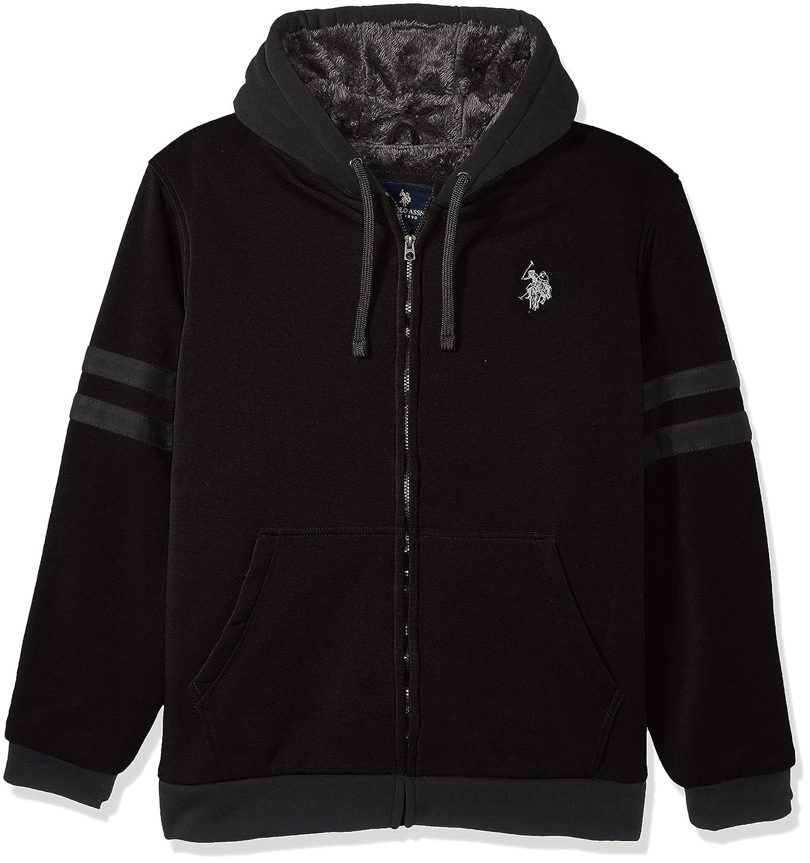 U.S. Polo Assn. OUTERWEAR メンズ B07365YTV6 3X|Black 5523 Black 5523 3X