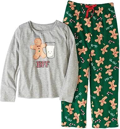 Jv Girl S Tamaño 6 6 X Bff Leche Y Galletas De Jengibre Conjunto De Pijama Clothing