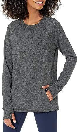 Amazon Essentials Studio Terry - playera de manga larga camisa para Mujer