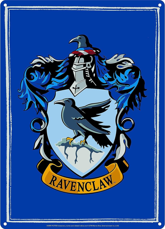 dise/ño de Harry Potter Letrero de Chapa peque/ño Ravenclaw
