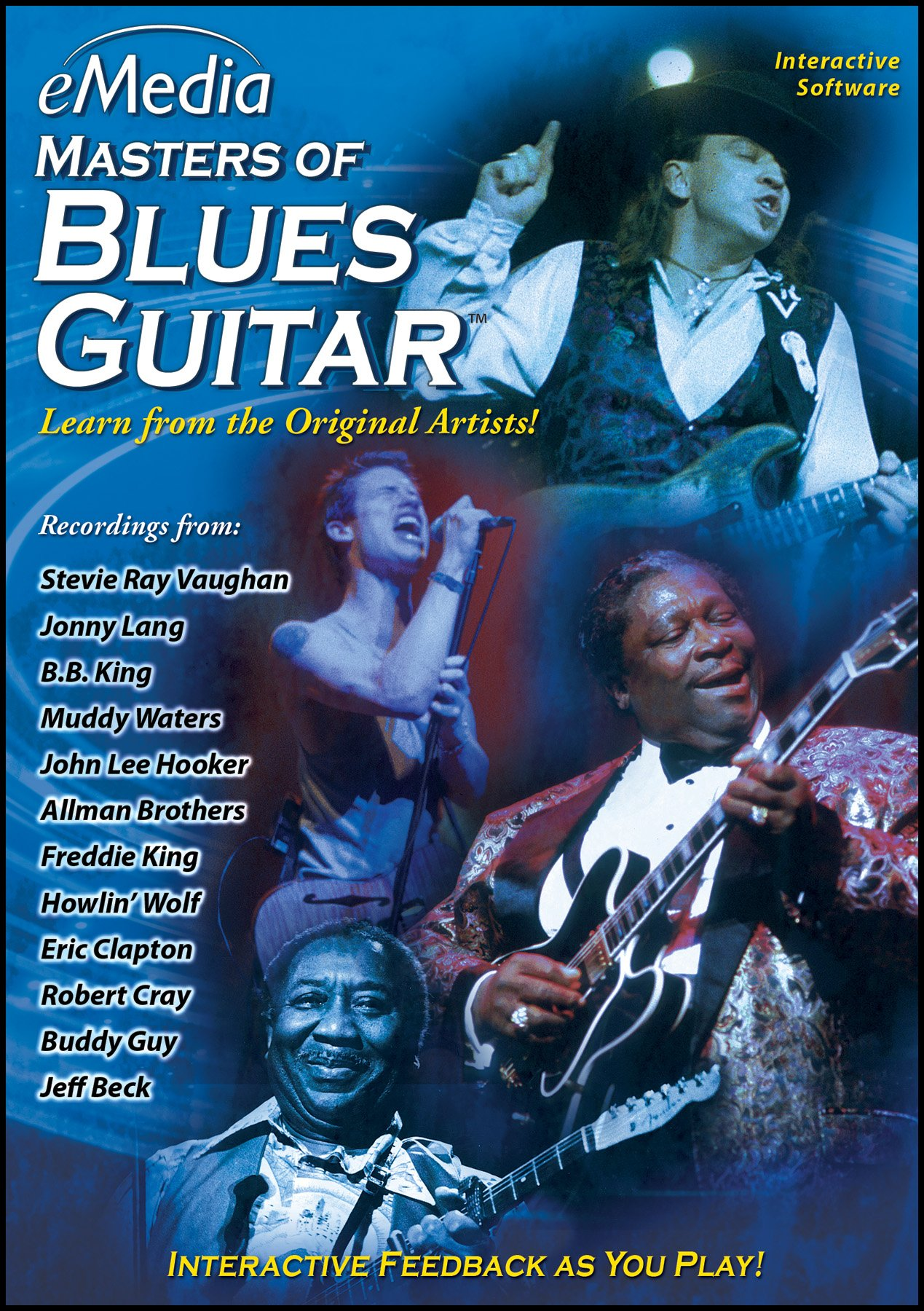 eMedia Masters of Blues Guitar [PC Download]