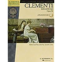 Clementi - Sonatinas, Opus 36 [With CD] (Schirmer